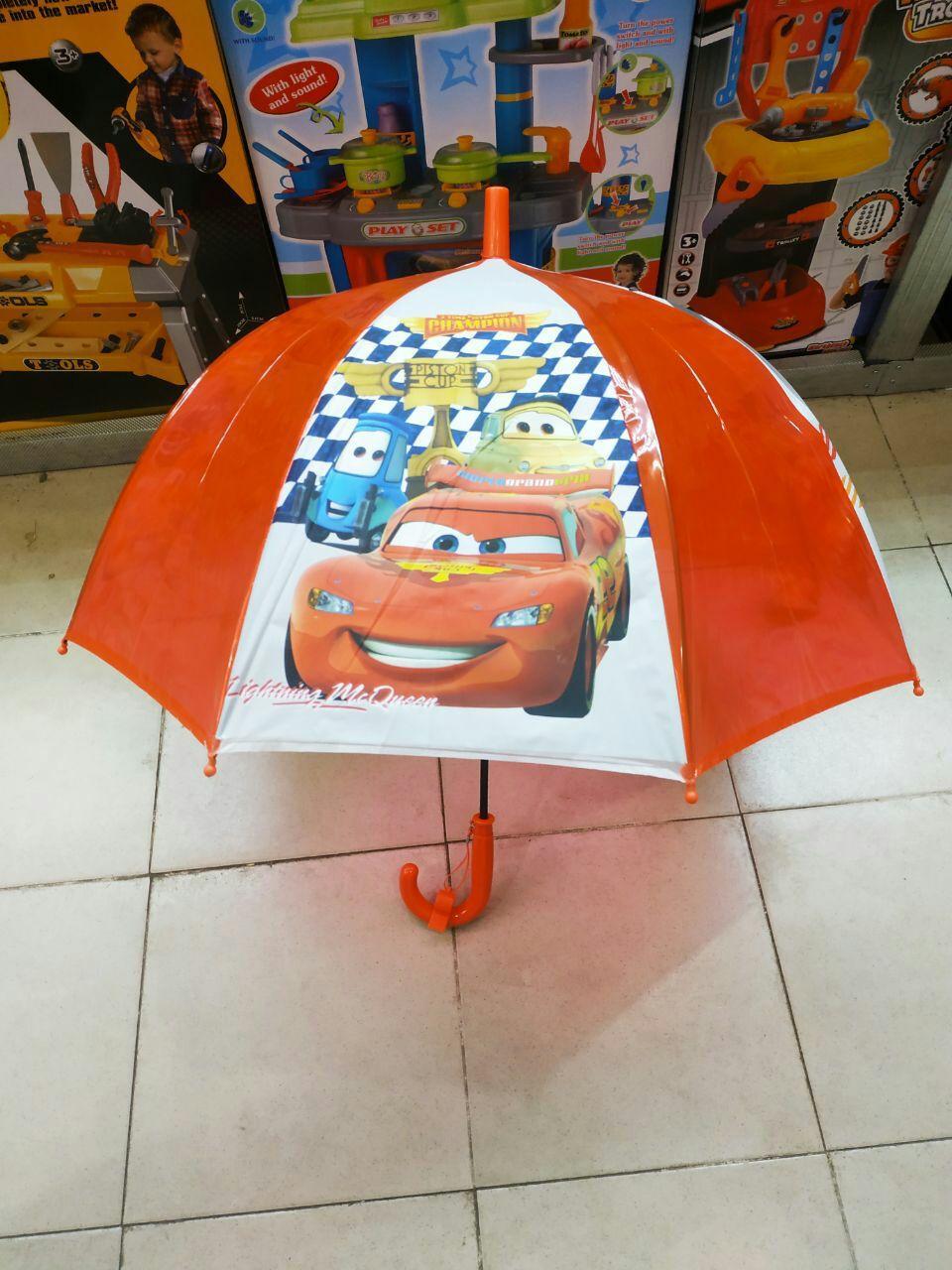 Детский зонт трость для мальчиковТачки ТОП Качество