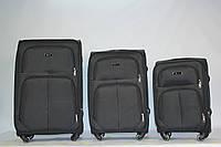 Комплект тканевых чемоданов FLY 214 на 4 колесах, фото 1