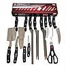 Набір ножів Мирэкл Блейд 12 шт і ножиці Miracle Blade World Class