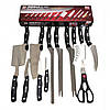 Набор ножей Мирэкл Блэйд 12 шт и ножницы Miracle Blade World Class