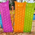 """Пляжний надувний матрац Intex 59718 """"Relax-A-Mat"""". 3 кольори, фото 3"""