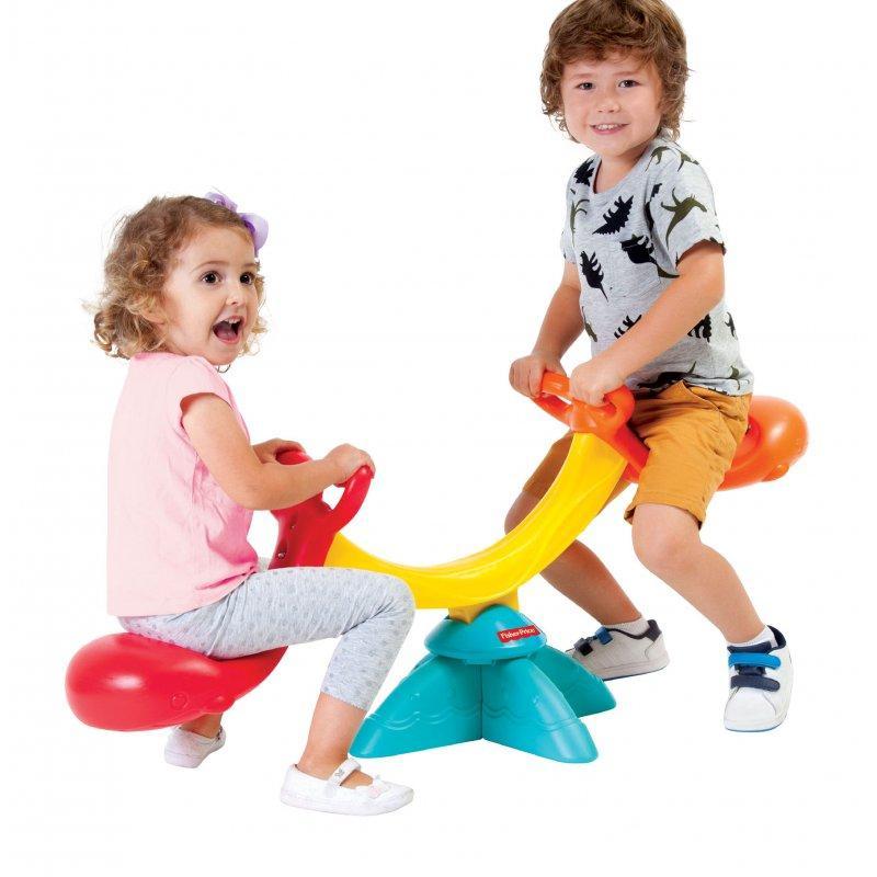Детская качалка Fisher Price для 2 детей