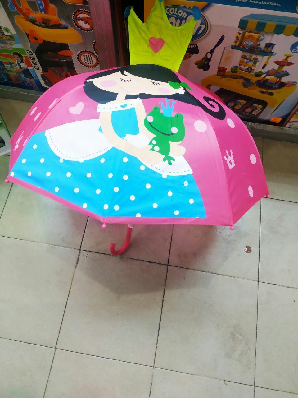 Детский зонт трость для девочек Принцесса ТОП Качество