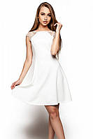 S, M, L / Короткое коктейльное платье Sally, белый