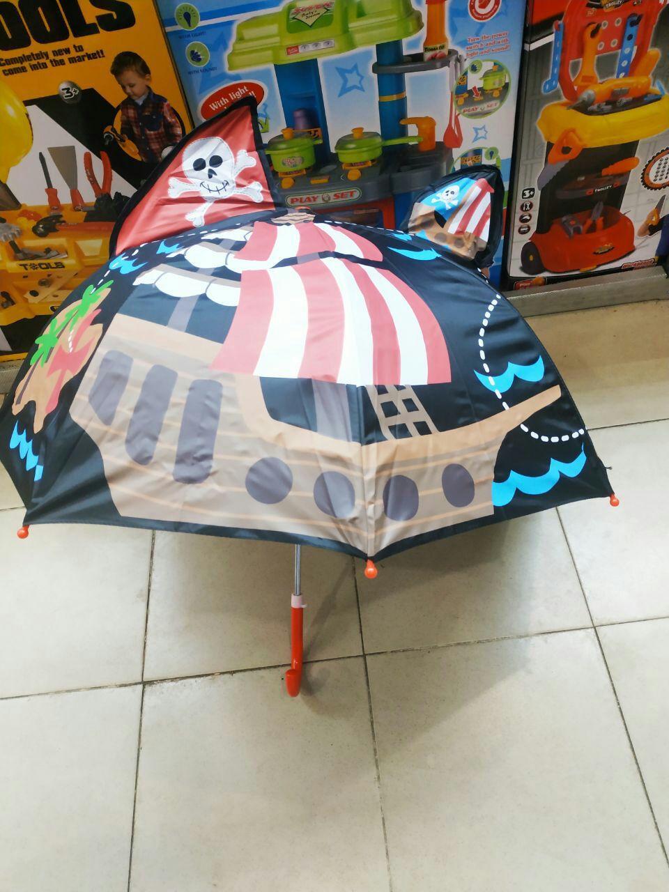 Детский Зонт Пираты ТОП Качество
