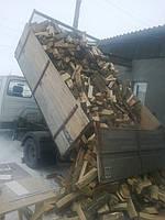 Дрова колотые дубовые 6 куба с доставкой по киеву и области 5000грн