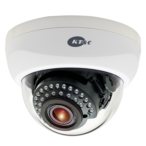 Видеокамера HD-SDI KT&C KPC-HND122M, фото 2