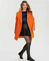 Пальто короткое двубортное  1280, фото 3