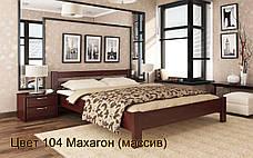 ✅ Дерев'яне ліжко Рената 80х190 см ТМ Естелла, фото 2