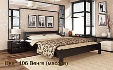 ✅ Дерев'яне ліжко Рената 80х190 см ТМ Естелла, фото 3