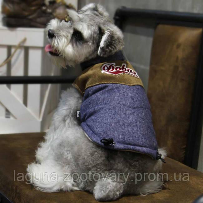 Куртка ЛОК для собак, размеры S, M, L, XL, синий