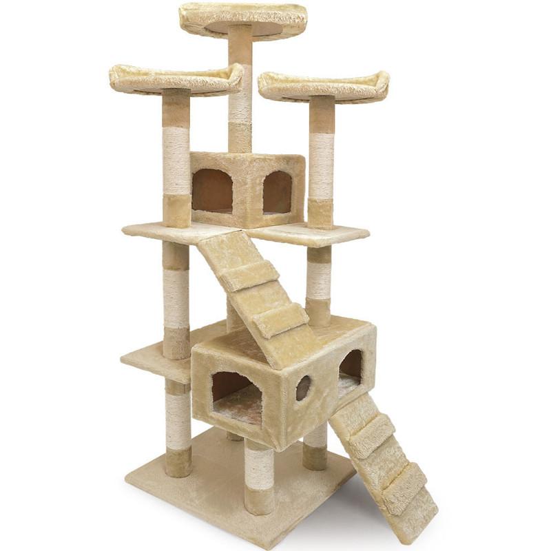 Игровой комплекс Big Jump I - 175 x 50 x 50 см, домик для кота