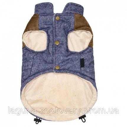 Куртка ЛОК для собак, размеры S, M, L, XL, синий, фото 2