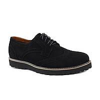 Туфли мужские классические замша(ониксы)