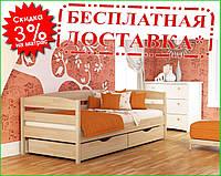 ✅ Деревянная кровать Нота Плюс 80х190 см ТМ Эстелла