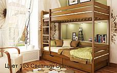 ✅ Деревянная двухъярусная кровать Дуэт 80х190 см ТМ Эстелла, фото 2