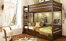 ✅ Деревянная двухъярусная кровать Дуэт 80х190 см ТМ Эстелла, фото 3