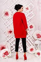 Женское демисезонное пальто  В-1000 Вар.шерсть, фото 3