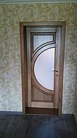 Дверной блок из массива ольхи,сосны,ясеня,дуба от производителя
