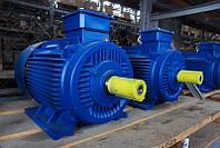Электродвигатели б/у трехфазные 4ам, аир, 4 квт,5.5,7.5,11,15,22,30,37,45,55 квт 3000 оборотов,1500 об,1000