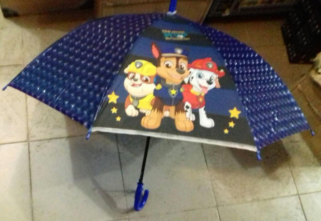 Детский зонт трость для мальчиков  Щенячий патруль ТОП Качество