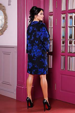 Женское демисезонное пальто В-1052 Alba Pinerolesse , фото 2