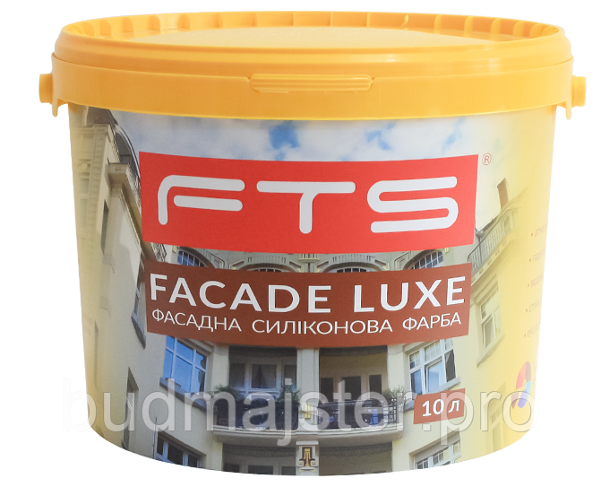 Фарба FTS  FACADE LUXE фасадна силіконова, 10 л