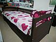 """Кровать подростковая """"Мила"""" цвет - Венге. Цена без ЯЩИКОВ!, фото 2"""