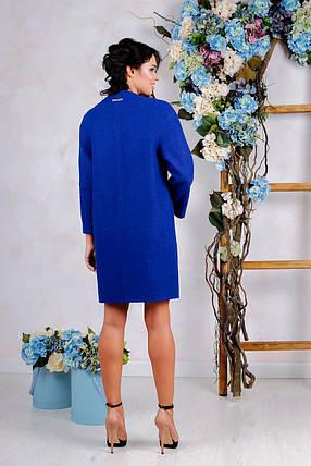 Женское осеннее пальто В-1034 Вар. шерсть, фото 2