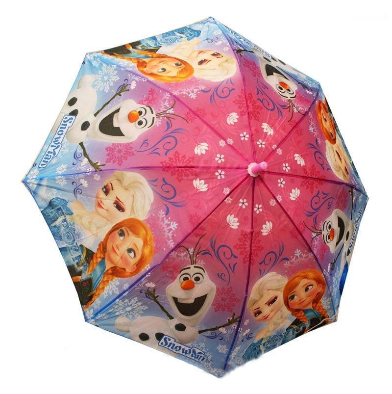Детский зонт трость для девочек Холодное сердце ТОП Качество