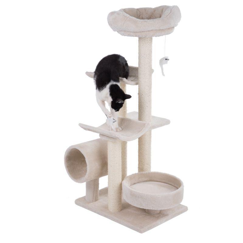 Игровой комплекс Penelope - 116 x 55 x 40 см, домик для кота
