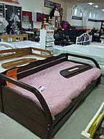 """Кровать подростковая """"Бонита"""" коричневая"""