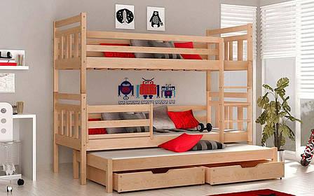 👪Двухъярусная кровать Джоси 80х190 см ТМ Mr.Mebl, фото 2