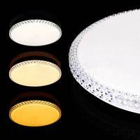 LED светильник BIOM смарт SML- R08- 80 с пультом круглый 80W 3000-6000K 80Lm/W
