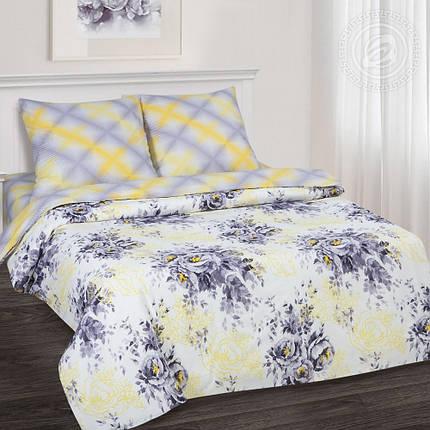 Постельное белье Акварель ТМ  Комфорт-текстиль  поплин (Полуторный), фото 2