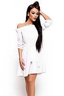 S-M / Свободное летнее платье Mihael, белый