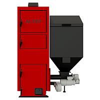 Котел на пеллетах с автоматической подачей топлива Альтеп Duo Pellet N мощностью 27 кВт