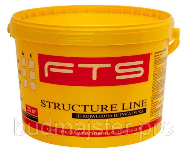 Штукатурка FTS STRUCTURE LINE силіконова 2,0 мм камінцева Б, 25 кг