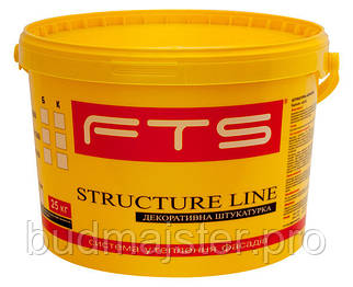 Штукатурка FTS STRUCTURE LINE  силіконова 2,5 мм короїд А, 25 кг