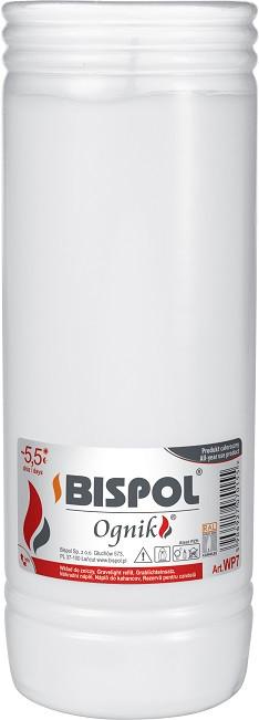 Свічка вкладиш змінна Bispol Ognik 6,5 днів 21 х 7,5 см (WP7)