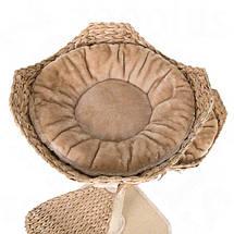 Когтеточка с домиком для кошек плетеная Cat´s Flower - 130 x 55 x 55 см, домик для кота, фото 2