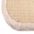 Когтеточка с домиком для кошек плетеная Cat´s Flower - 130 x 55 x 55 см, домик для кота, фото 3
