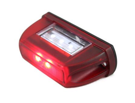 Подсветка номера HOR 63 красная/LTD 669/1745