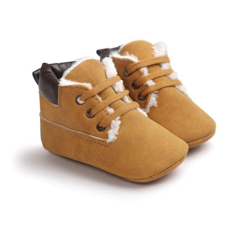 Пинетки ботинки для малыша 12 см.