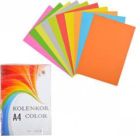 Бумага для ксерокса А4 5+ 5 цв, НЕОН+ насыщенная 250 листов 80 г/м            N+N/250