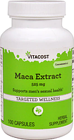 Мака, экстракт, Vitacost, Maca Extract, 525 мг, 100 капсул