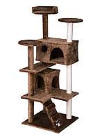 """Когтеточка """"Игровая площадка"""" коричневая Pethaus, 50x50x130 см"""