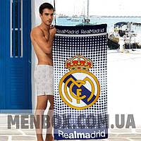 Мужское пляжное полотенце Realmadrid - №4840