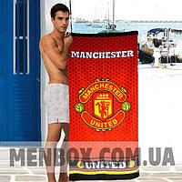 Мужское пляжное полотенце Manchester United - №4837