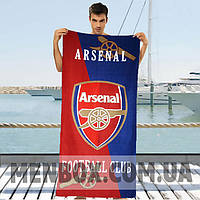Мужское красное полотенце Arsenal - №4838
